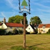 Village Sign on the green